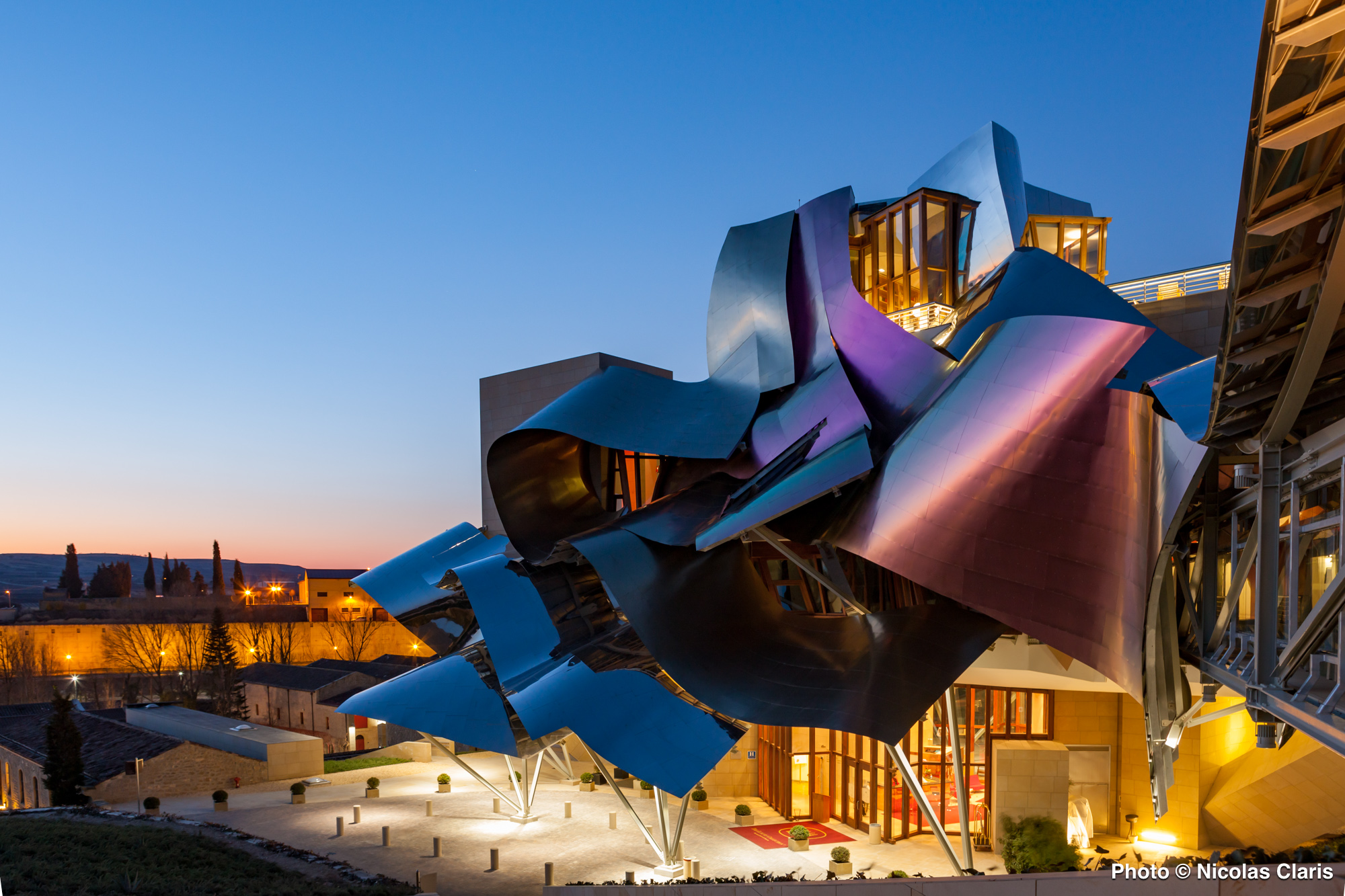 Frank Gehry's hotel Marques de Riscal