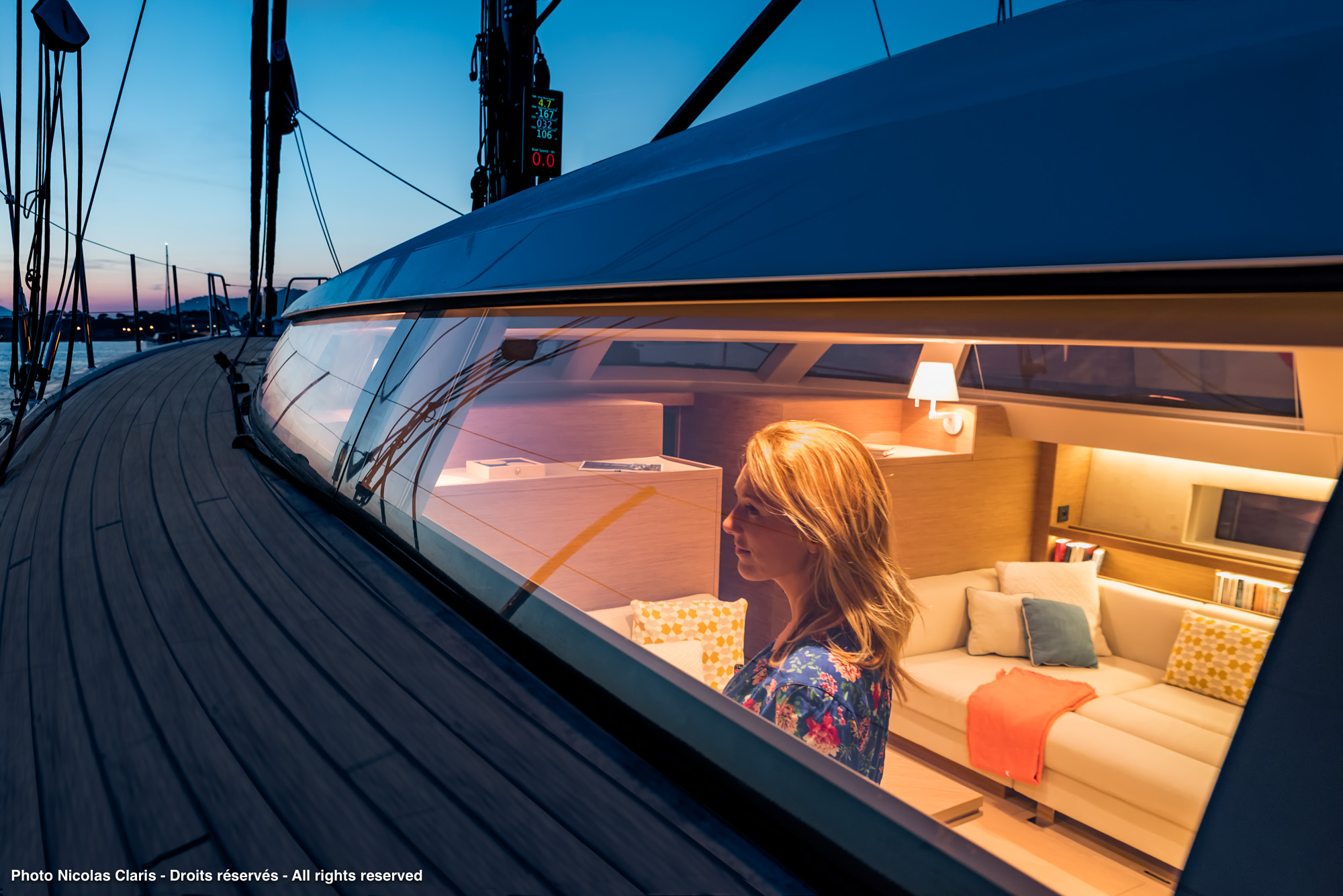 Lifestyle – Interior of yachts