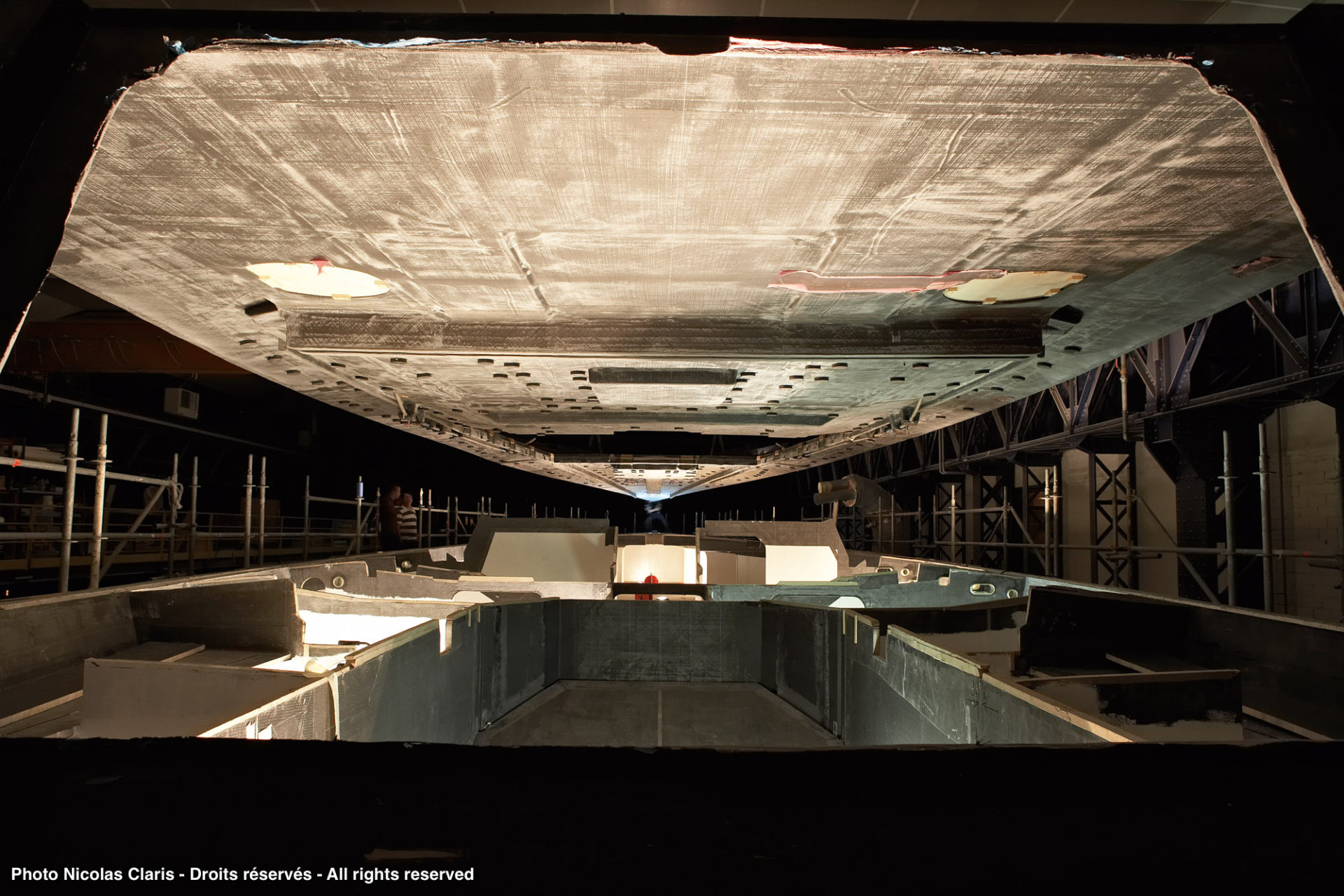 Suivi de projet Yacht 100 pieds