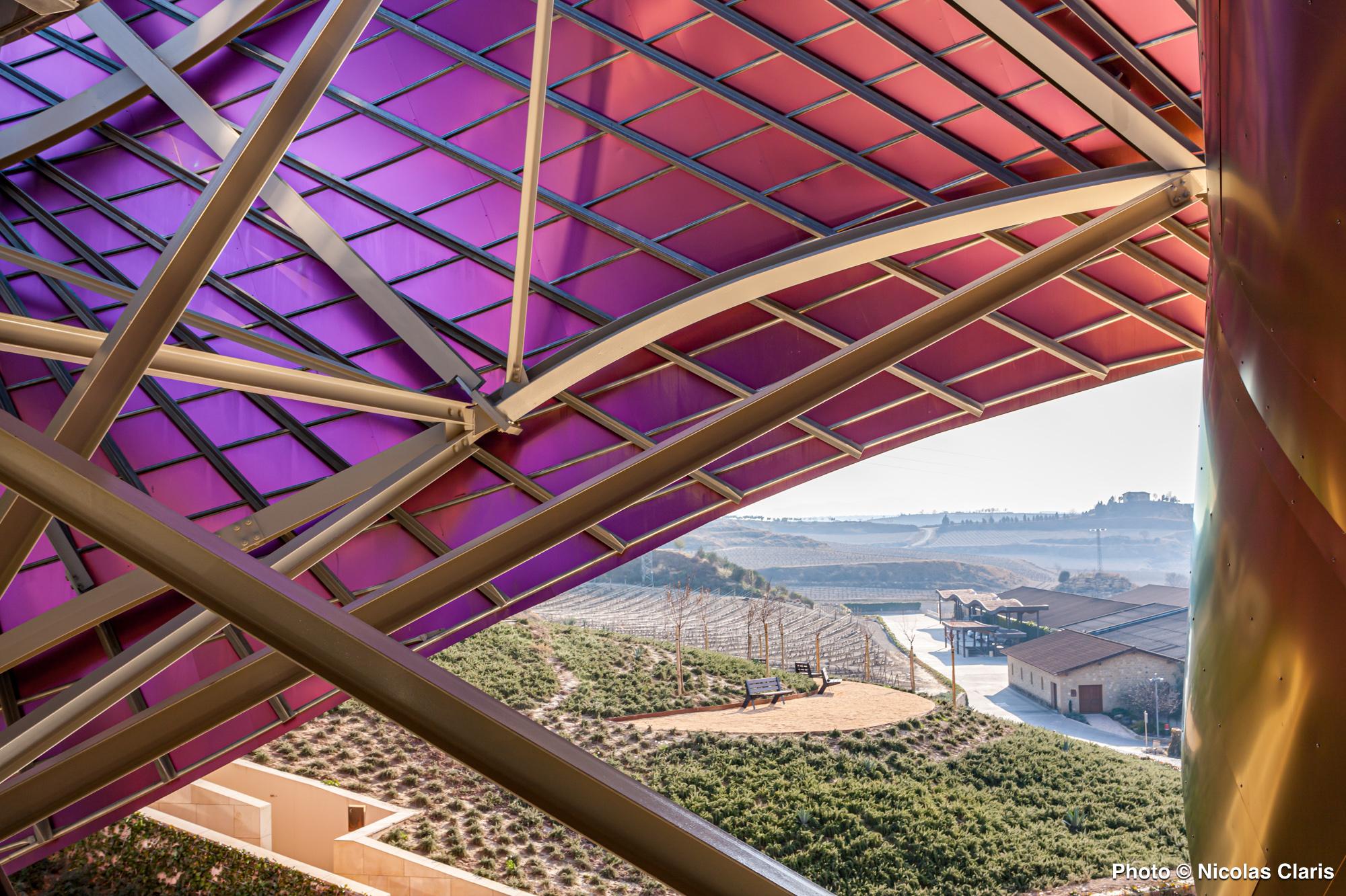 L'Hotel Marqués de Riscal de Frank Gehry – Intérieurs